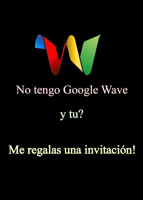 No tengo google wave